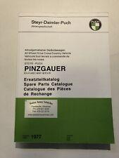 Steyr Puch Pinzgauer Spare Parts Catalog 1977 Ed.
