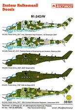 Techmod Decals 1/35 MIL Mi-24D/W HIND Russian Attack Helicopter