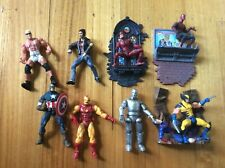 Marvel Legends Iron Man Wolverine Daredevil Spider-Man Captain America nWo wwe