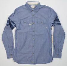 Vans Classic Fit Sterling L/S Blue Stripe Shirt - M