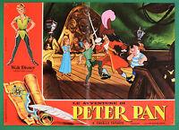 T77 Fotobusta die Abenteuer Von Peter Pan Walt Disney Animation Zeichentrick 3