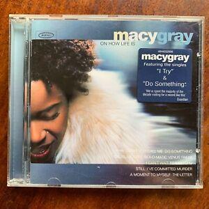 Macy Gray Oh How Life Est CD Femelle Vocal Rock Pop Album