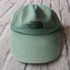 Vintage 90s North Face Longbill Canvas Strapback Hat Cap Faded Worn