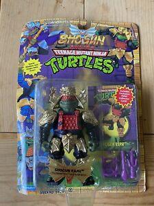 Original Teenage Mutant Ninja Turtles 🐢 TMNT Shogun Raphael GOLD ARMOR MOC 1994