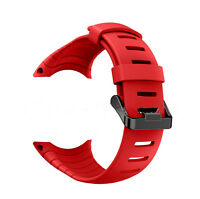 Luxury Rubber Watch Band For SUUNTO CORE SS014993000 Replacement Band Strap