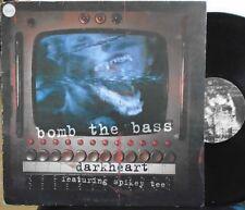"""BOMB THE BASS ~ Dark Heart ~ 12"""" Single PS"""