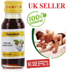 Hamdard Roghan Kharateen oil Rogan 25 ml natural herbal for men desire & stamina