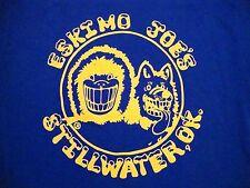 Eskimo Joe's Stillwater OK Oklahoma Bar Souvenir Juke Joint T-Shirt S