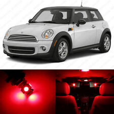 11 x Red LED Lights Interior Package For Mini Cooper S R56 Hardtop 2006 - 2014