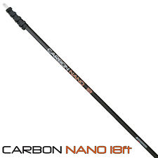 18 ft (approx. 5.49 m) Carbono Nano agua Fed Polo Limpieza-Super Alta un puente de ojo de WFP