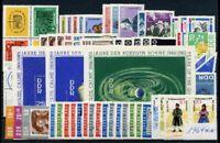 DDR Jahrgang 1964 postfrisch MNH jede MiNr 1x mit Block