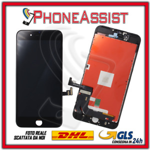DISPLAY LCD VETRO TOUCH Apple iPhone 7 Plus SCHERMO ORIGINALE TIANMA Nero