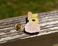 1984 Precious Moments 5 Year Member Angel Pin Pinback Enesco Collectors Club