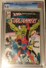"""X-Men Spotlight On...Starjammers #1 CGC 9.8 """"From the Estate Of Dave Cockrum"""""""