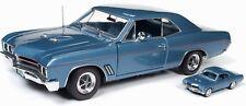 1967 Buick GS400 Blue 1:18 Autoworld 1115