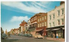 Hampshire; High St, Lymington PPC, Unposted, By Salmonc 1960s, W Triumph Herald