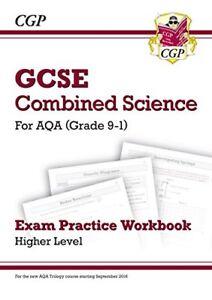 New Grade 9-1 GCSE Combined Science: AQA Exam Practice Workbook - Higher-CGP
