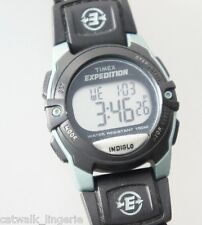 Timex Unisex Expedition Classic Watch Digital Chrono Alarm Timer Fast Wrap