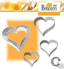 Ausstecher Ausstechform Keksausstecher Terrasse Herz Weißblech RBV Birkmann