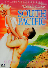 South Pacific (1958) - Rossano Brazzi, Mitzi Gaynor - DVD NEW