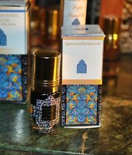 Ispahan Black 3ml - Opium Musk Rose Otto Arabian Attar Alcohol Free Perfume Oil