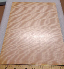 """Movingui dyed pink prefinished on 1/4"""" x 7.5"""" x 10"""" Mdf board with paper backer"""