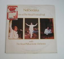 "Neil SEDAKA ""Live at the Royal Festival Hall"" (Vinyle 33t / LP) 1974"