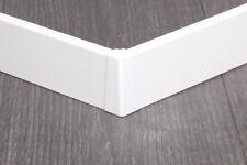 Favorit Weiße-Sockelleiste Bodenleisten, Profile und Schienen für UI12