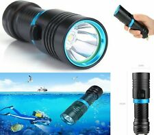 Torcia LED CREE subacquea immersioni sub diving acqua impermeabile 30 M METRI EM