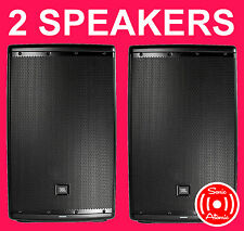 "TWO JBL EON615 1000W Powered 15"" Speakers AUTHORIZED DEALER 5 YEAR WARRANTY"