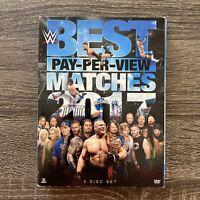 WWE-BEST PPV MATCHES 2017 (DVD/3 DISC) John Cena Brock Lesnar