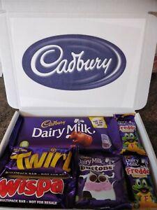 Cadbury Chocolate Sweet Gift Box Selection Personalised Congratulations Birthday