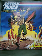 Retro vintage Panini GI G I JOE Action Force sticker album