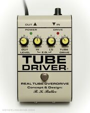 FALL SALE -TUBE DRIVER w/BIAS  - $135 OFF * Original - hand made * BK BUTLER