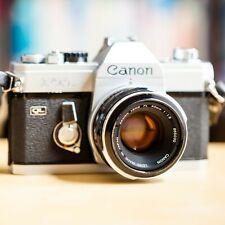 Canon FTb QL + Canon FL 50mm f/1.8 + Housse Cuir Canon !! Super Offre !!