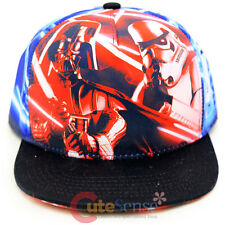 Star Wars Hat Adjustable Youth Snap Back Darth Vader Storm Tropper Yoda Laser