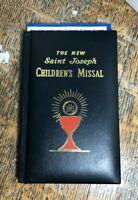 VTG The New Saint Joseph Children's Missal For Boys And Girls 1998 NOS Catholic