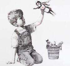 Banksy - Lithographie Signée  - 5 e reversé à la Fondation de France