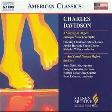 Charles Davidson: A Singing of Angels; And David Danced Before the Lord, New Mus