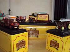 3 x 1:76 ATLAS GREATEST SHOW FAIRGROUND CARTERS FODEN DIAMOND T BURRELL SHOWMANS
