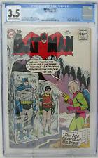 Batman #121 ~ 1959 DC ~ CGC 3.5 VG- ~ Origin and 1st appearance of Mr. Zero