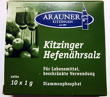 1x Arauner Kitzinger Hefenährsalz 10x1g Pulver