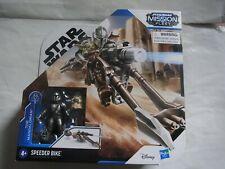 Star Wars Mission Fleet Speeder Bike Mandirian Yoda Hasbro