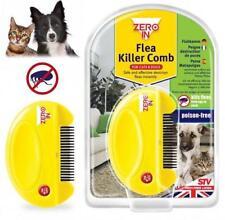 STV ELECTRIC FLEA KILLER COMB FOR PET CATS & DOGS KILLS EGGS + FLEAS