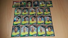 Panini Football Uefa Portugal Euro 2004 Sweden Team Stickers x21 Complete Set