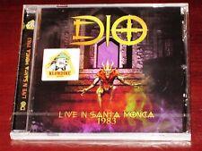 Dio: Live In Santa Monica 1983 CD 2017 Remaster Klondike Records UK KLCD5073 NEW