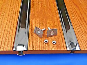 Bed Strips Ford 1928 - 1931 Model A Truck Polished Stainless Hidden Fasteners