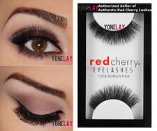 3 Pairs AUTHENTIC RED CHERRY #117 Ryder Black Human Hair Lash False Eyelashes