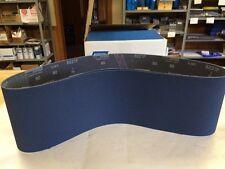 """Norton 78072727694  6""""X48"""" 80-Grit R821P Blue Fire Belts, Lot Of 2 New"""
