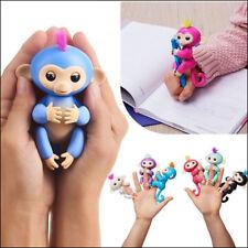 ACALI Kids Xmas Gift Interactive Baby Monkey Sound Finger Monkey Motion Pet Toy